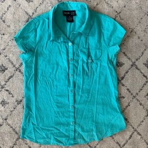 Style & Co Collared Blouse
